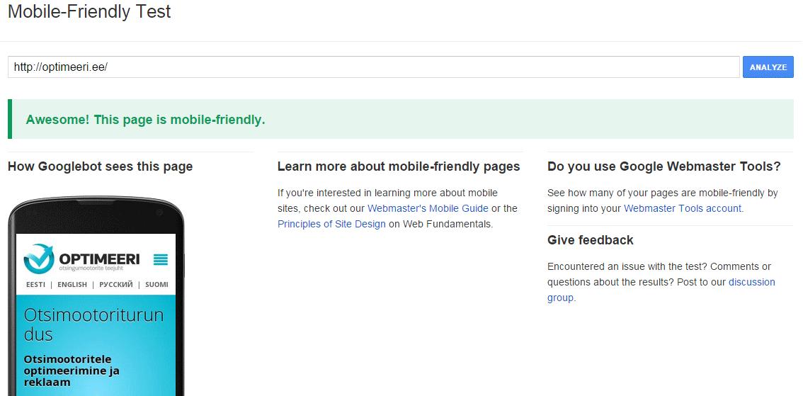 google algoritm