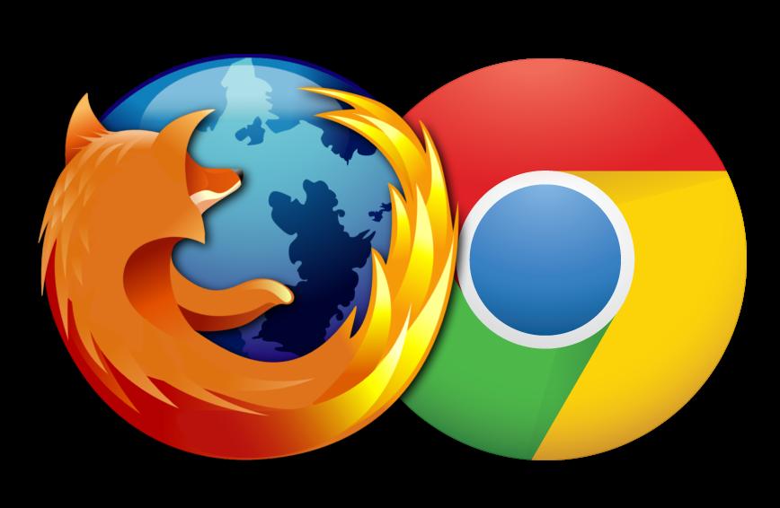 Chrom ja Mozilla